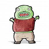 cartoon mutant boy
