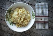 Fusilli With Cabbage