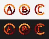 Minimal line design logo, business icons, branding emblems