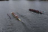 US Rowing (left) and Real Circulor Labradoers(right)