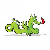 cartoon chinese dragon