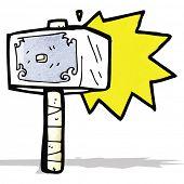 cartoon hammer of thor