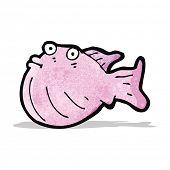 cartoon funny fish