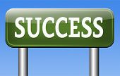 road to success in life and business being successful