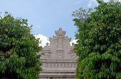 the top of gapura panggung - the east gate of taman sari water castle - the royal garden of sultanat