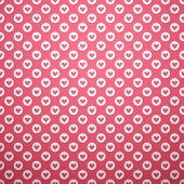 Cute different vector seamless pattern. Pink and white color