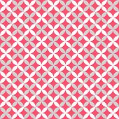 Cute different vector seamless pattern. Pink, white and grey color