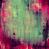 Antique vintage textured background. With pink, purple, violet, green patterns
