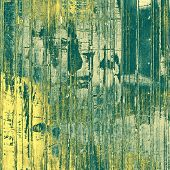 Old antique texture - perfect background with space for your text or image. With yellow, green patterns