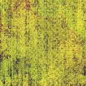 Old grunge antique texture. With yellow, brown, green patterns