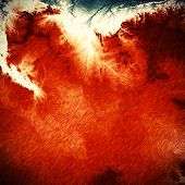 Abstract grunge background of old texture. With brown, red, orange, white patterns