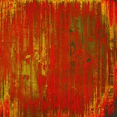 Old school textured background. Grunge background. With brown, red, orange, green patterns