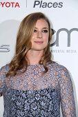 LOS ANGELES - OCT 18:  Emily Van Camp at the 2014 Environmental Media Awards at Warner Brothers Studios on October 18, 2014 in Burbank, CA