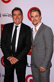 LOS ANGELES - OCT 17:  Kenny Ortega, Derek Hough at the 10th Annual GLSEN Respect Awards at Regent Beverly Wilshire on October 17, 2014 in Beverly Hills, CA