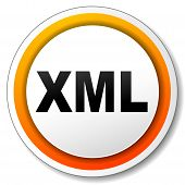 Xml Orange Icon