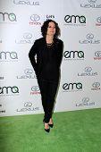 LOS ANGELES - OCT 18:  Sara Gilbert at the 2014 Environmental Media Awards at Warner Brothers Studios on October 18, 2014 in Burbank, CA