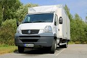 White Renault Mascott Light Duty Truck