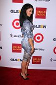 LOS ANGELES - OCT 17:  Jessica Clark at the 10th Annual GLSEN Respect Awards at Regent Beverly Wilshire on October 17, 2014 in Beverly Hills, CA