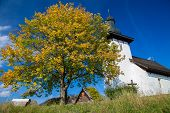 Templar church at village Martincek - Slovakia