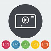 Video player icon.