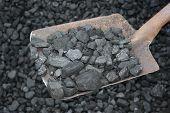 Coal With Shovel