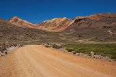 Gravel Road in the Atacama