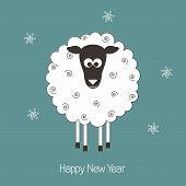 New Year sheep