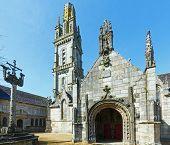 The Parish Of Lampaul-guimiliau, Brittany, France.