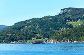 Fjord Summer Hazy View (boknafjord, Norway)