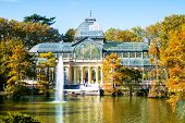 Madrid, Crystal Palace In Retiro Park