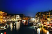 Venezia At Night, Venice, Italy