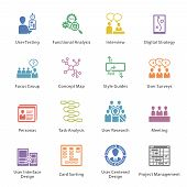 SEO & Usability Icons Set 1 - Colore? Series