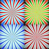 stock photo of starburst  - Eps 10 Vector Illustration of Starburst sunburst burst - JPG