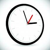 pic of analog clock  - Wall clock icon - JPG