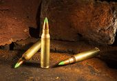 picture of piercings  - Three cartridges that could be considered armor piercing - JPG