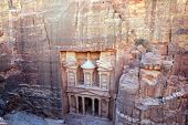 picture of petra jordan  - Petra, Lost rock city of Jordan. Petra