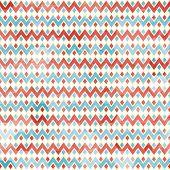 foto of zigzag  - zigzag seamless pattern with grunge effect  - JPG