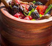stock photo of nutrients  - Bramble berry - JPG