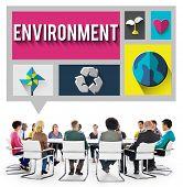 image of environmental conservation  - Environment Ecology Environmental Conservation Global Concept - JPG
