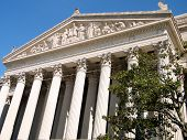 Washington National Archives Pediment 2010