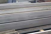 foto of foundation  - metal profiles channel foundation for building structures steel - JPG