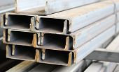 pic of foundation  - metal profiles channel foundation for building structures steel - JPG