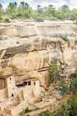 Постер, плакат: Cliff Dwellings In Mesa Verde National Parks Co Usa
