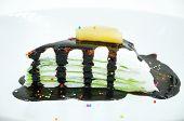 pic of crepes  - banana Chocolate Crepe cake sweet and dessert - JPG