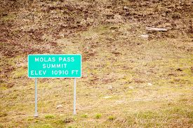 picture of mola  - Molas Pass Summit at elevation of 10910 ft - JPG
