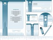 Identity vector template-easy editable colors