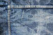 Textura de jeans desgastado