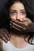 image of child abuse  - Domestic violence - JPG