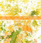 Grungy autumn background