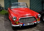 RATIBORICE, CZECH REPUBLIC - AUGUST 7: IX. Vintage car show  - Skoda Felicia 1960.  August 7, 2010 i